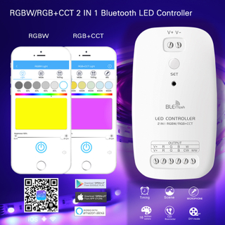 RGB & RGB+CCT LED Strip Lights Bluetooth Controller