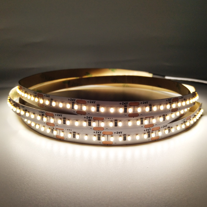 12V 24V 240LEDs/m SMD2110 Flexible 3mm 8mm Width LED Light Strip with CRI 90
