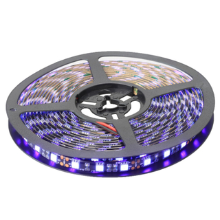 DC 12V 24V 60LEDs/m SMD5050 UV LED Strip Light 390nm 395nm 400nm